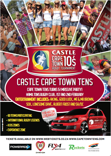Cape Town Tens Poster