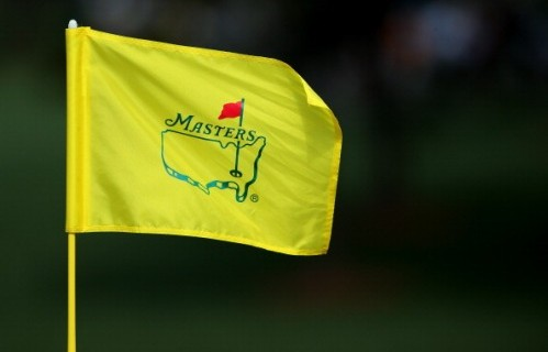 AUGUSTA, GA - APRIL 08:  A Master flag is seen during a practice round prior to the start of the 2013 Masters Tournament at Augusta National Golf Club on April 8, 2013 in Augusta, Georgia.  (Photo by Andrew Redington/Getty Images)
