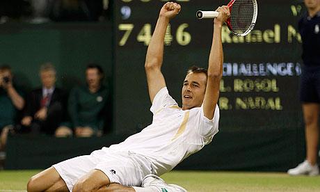 Lukas Rosol Wimbledon