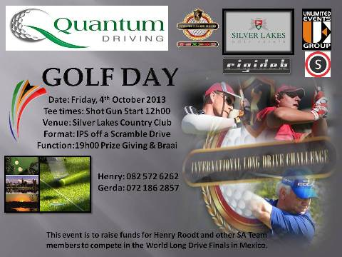Quantum Driving Golf Day