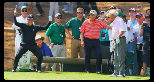 What is Gary Player doing?