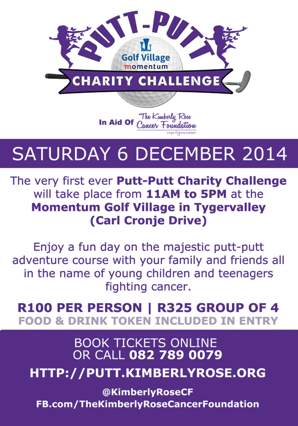Kimberly Rose Cancer Foundation_Charity Putt Putt Challenge - Copy