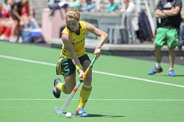 South African striker Lilian du Plessis