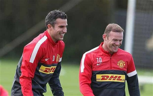 With RVP's arrival, Rooney has dropped down the order