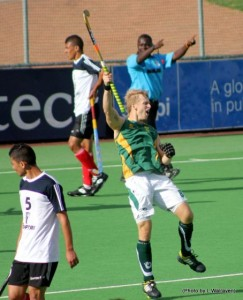 Clinton at last years Junior African Cup of Nations