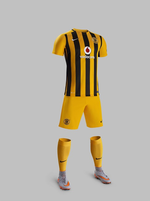 Nike Kaizer Chiefs 2015-16 Home Kit